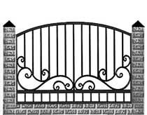 кованый забор Щелково