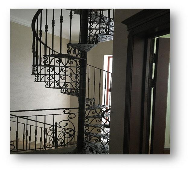 Каркасные лестницы