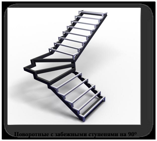 каркасы лестниц