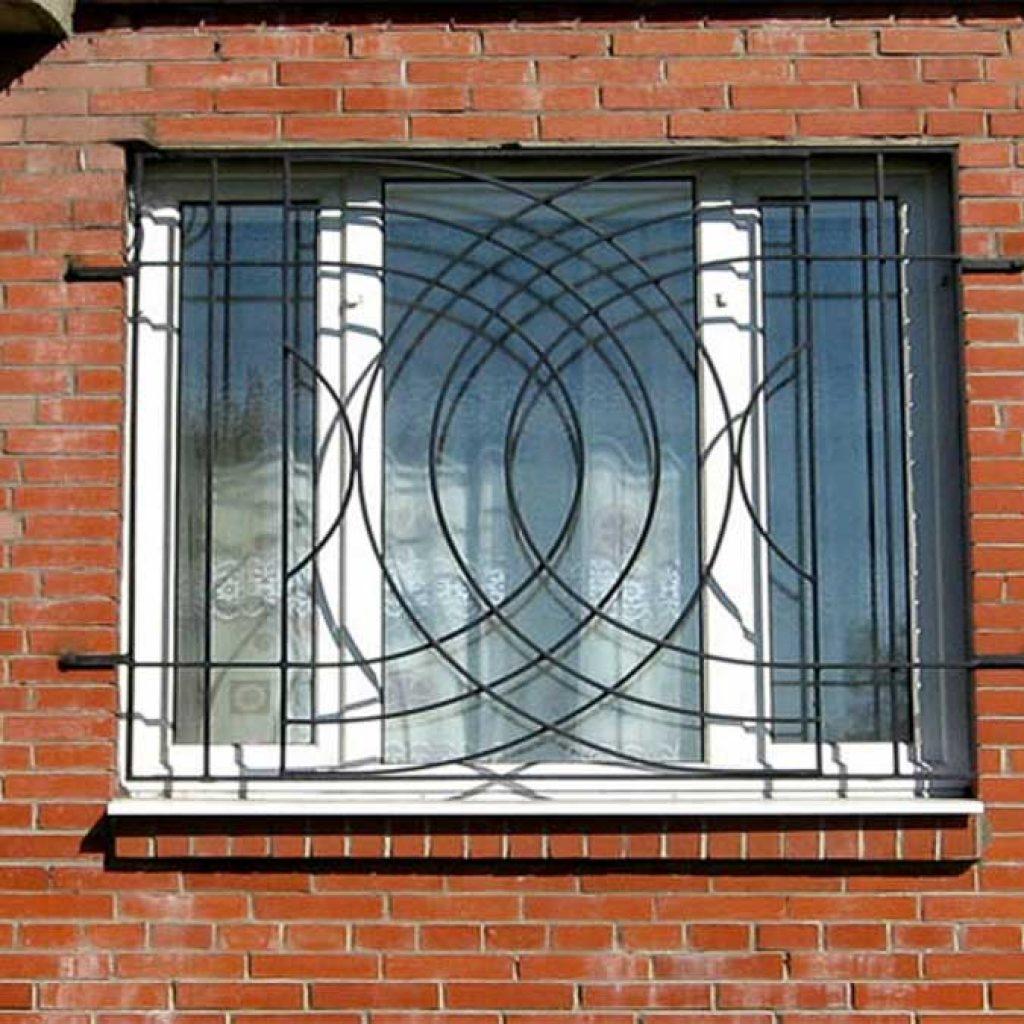 Решетки на окна своими руками - 2 варианта! 12